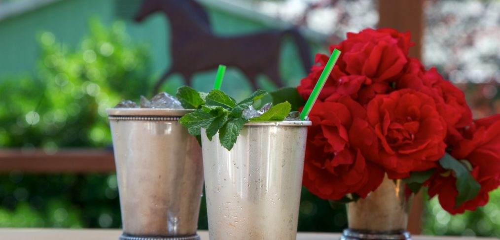 Roses and cocktail at a derby