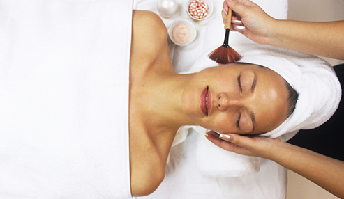 Facial treatment salon